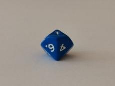 Würfel - W10 - blau