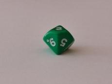 Würfel - W10 - green