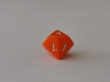 Würfel - W10 - orange